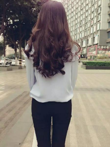 女生背影图片
