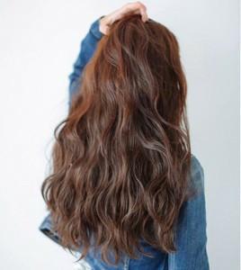 请问这种韩式大卷发可以烫永久的出来么?还是卷发棒一次性弄出来的啊图片
