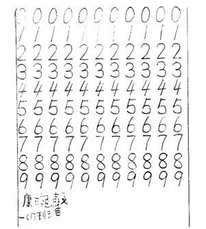 !求好看的数学字图片