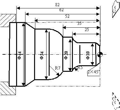 图在数控车床中怎么编程,广数系统图片