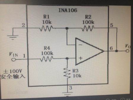 常用电压跟随器芯片_这是电压跟随器吗,不是吧,这不是可以放大11倍的吗