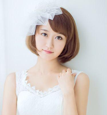 大圆脸女生剪什么短发好?不烫不染12岁 回答越多越好图片