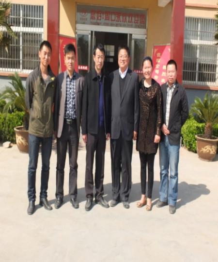 牧原食品股份公司应邀出席2010年南阳市畜牧工作会议,秦英林董事长图片