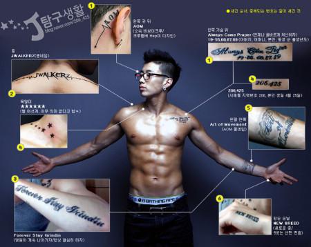 和脖子背后的纹身图案图片