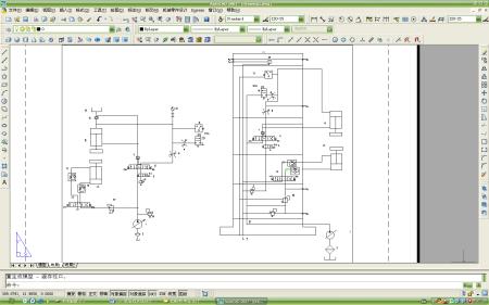 小型液压机的液压系统设计图图片