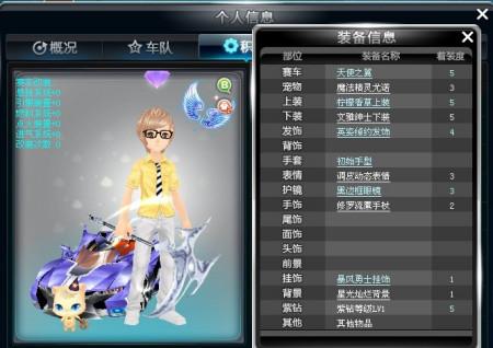 qq2011飞车_15 2011-04-14 qq飞车 怎么搭配装扮啊?