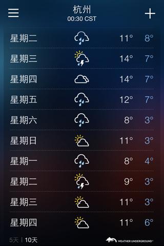 杭州天气预报_百度知道图片