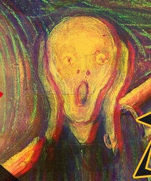 这张抽象派油画是谁的作品?