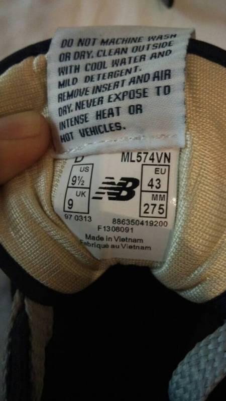 帮忙鉴定下nb鞋子真假,在线等,谢谢