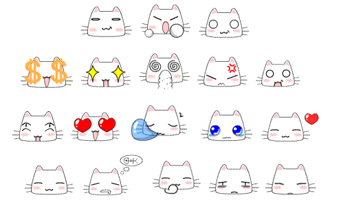 这只猫咪是什么表情图片