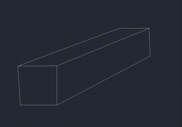 上图,粉红色的长方体是3D建模的用什么方式能导入到CAD中做成图片