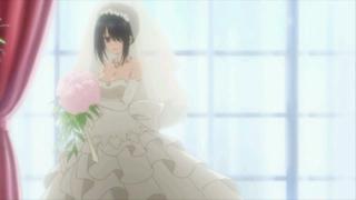 求约会大作战2里面时崎狂三和五河士道的婚纱照!!!只有狂三的也行,两个人在一起的更好!!谢谢!! 百度知道