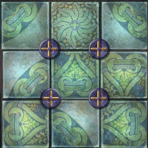 能一次逆时针或者顺时针旋转相邻四个小正方形,求过程图片