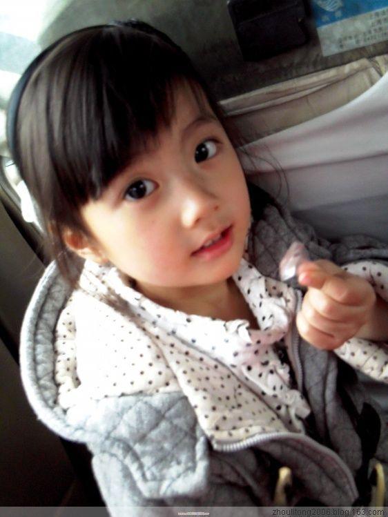 可爱小女孩图片 百度知道