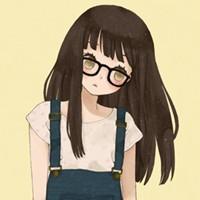 类似这样的,要一张是短发可爱胖女孩,一张是长发黑框眼镜漂亮女孩图片