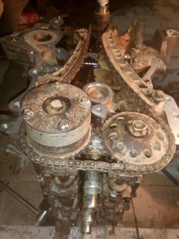 江准汽车的发动机正时链条怎么对高清图片
