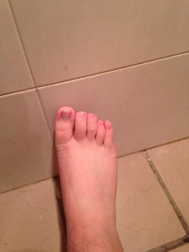 这是男人的脚还是女人的脚