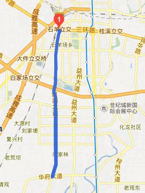 成都华阳剑南大道到绕城这边限号吗高清图片