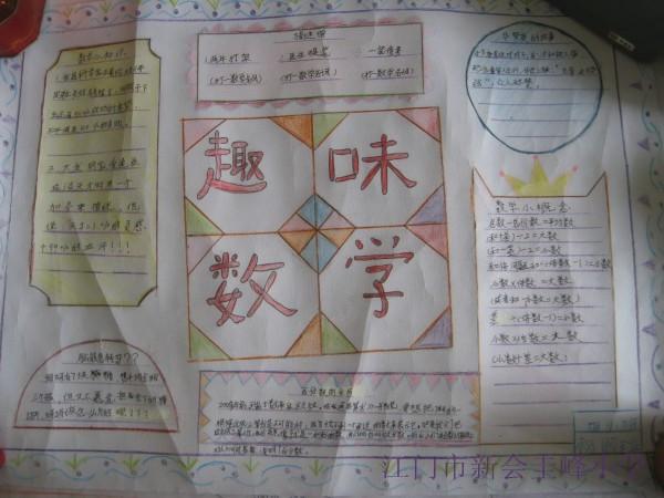 六年级数学手抄报文字素材图片高清图片
