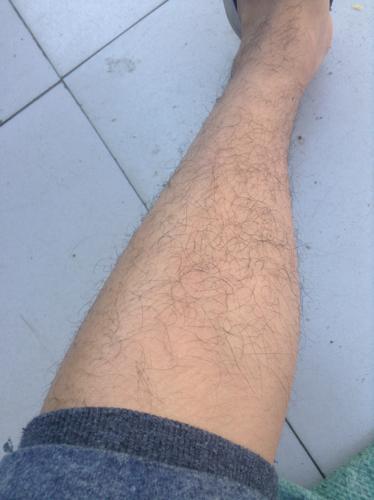 这是男人的腿还是女人的腿?