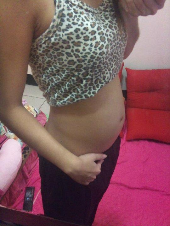 怀孕三个月的肚子有多大图片图片