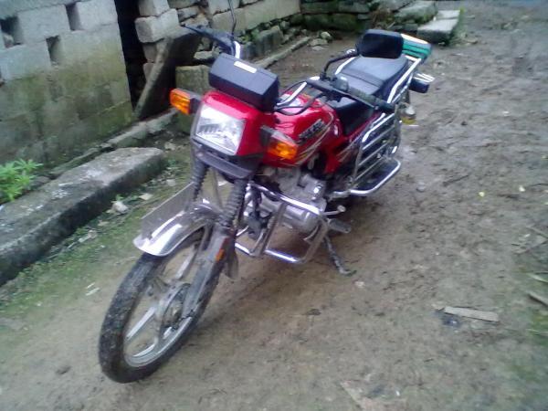 用才买两年的摩托车换本田摩托可以抵多少高清图片