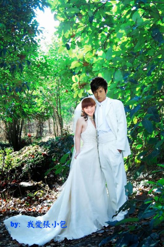 谢娜张杰结婚照