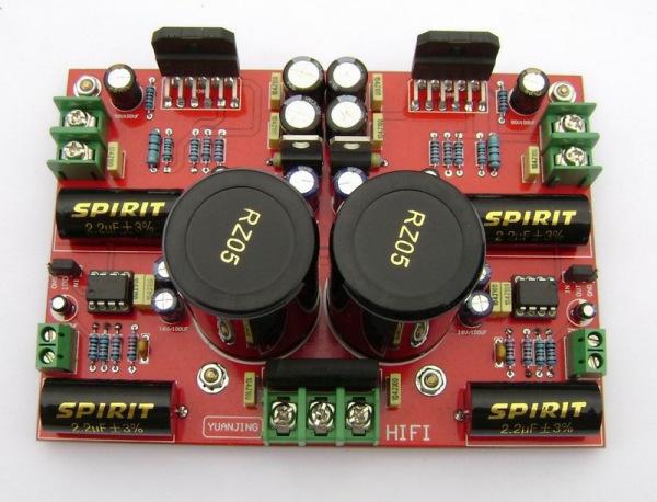 lm3886 lm833功放板做电脑低音炮应该如何接线 跪求大神打高清图片