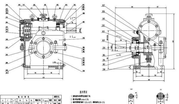 减速器 轴装配图