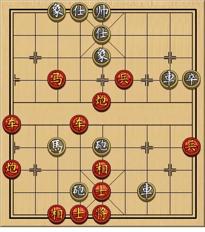 4399中国象棋残局第205关怎么破解图片