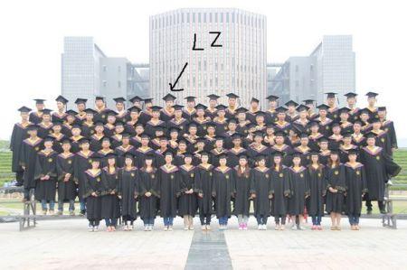 诡异的毕业照片