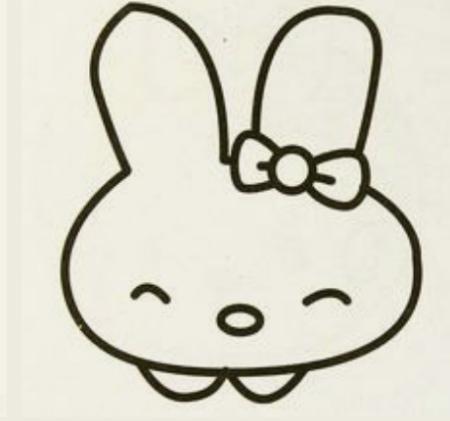 简笔画 兔子