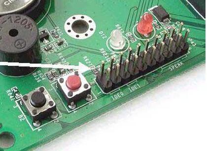 在主板上,插针通常标记为Power 全程详细图解电脑主板各个部位图片