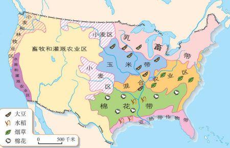 美国农业发布图