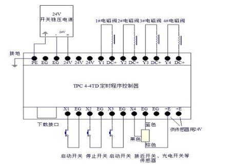 时间继电器 电磁阀 接线图_时间继电器 电磁阀 接线图图片