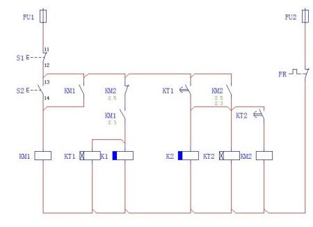 电磁阀和继电器的连接电路图分享展示图片