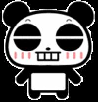这个熊猫头像图片我要一系列的 高清图片