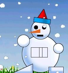 一年级奥数小雪人有几个长方形图片