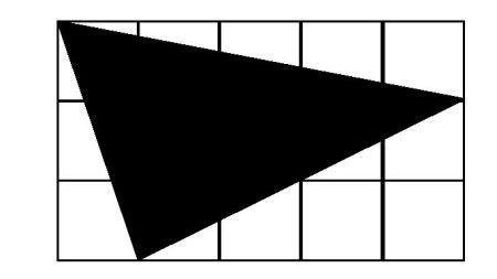 正方形中三角形占几分之几图片