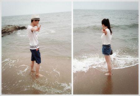 情侣头像海边高清一人一张图片