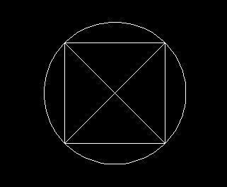 正方形的对角线是圆得直径d=根号2图片