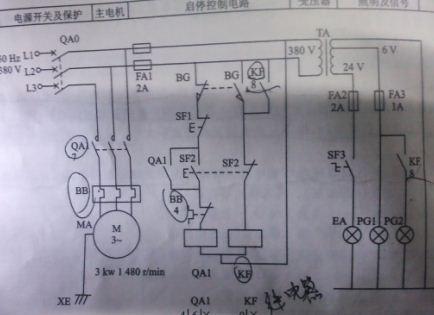 我是做图纸的,机械画我要图,想用autocadelectric,但怎么电路看电气6电气图片