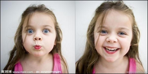 欧美小女孩短发头像图片