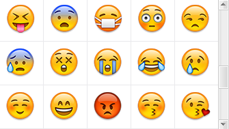 emoji,甜馨微博表情图片
