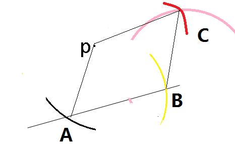 过p点画已知垂线和平行线怎么画图片