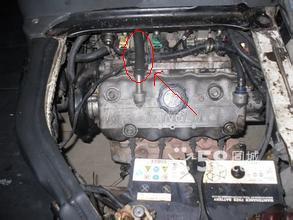 福克斯换发动机废气管_阀之家图片图片