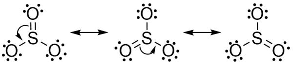 so3的路易斯结构式怎么写图片
