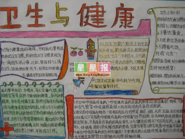 关于食品卫生手抄报_关于食品卫生手抄报分享展示