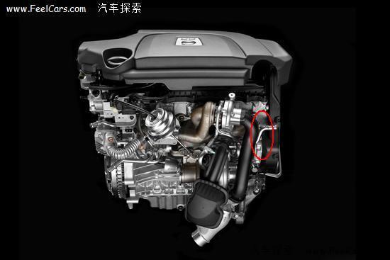 沃尔沃xc90发动机号在哪里2.5排量高清图片