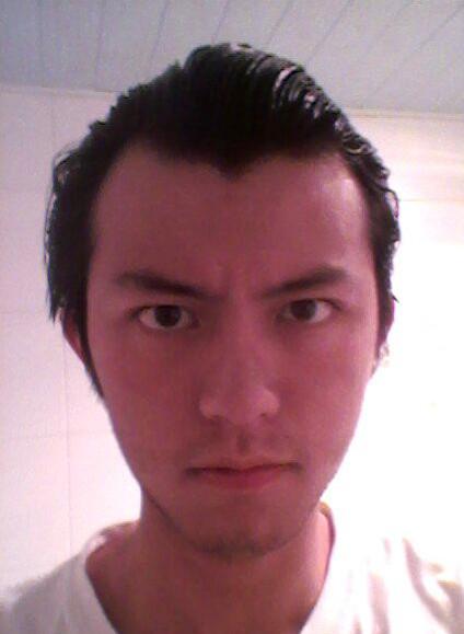 m型发际线,求适合的发型图片图片